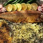 طرز تهيه ماهی شكم پر گيلانی مخصوص با سبزی پلو + نكات مهم