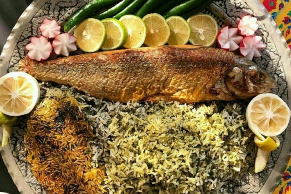 طرز تهيه ماهی شكم پر