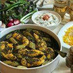 طرز تهیه خورشت کرفس با مرغ