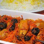 طرز تهیه خورشت مرغ با هویج