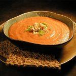 طرز تهیه سوپ بادام زمینی