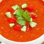 طرز تهیه سوپ گازپاچو اسپانیایی