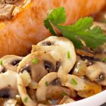 طرز تهیه ماهی با سس قارچ و لیمو