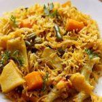 طرز تهیه پلو سبزیجات هندی