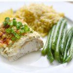 طرز تهیه ماهی با سس خامه و شوید