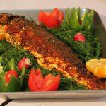 طرز تهیه ماهی تنوری
