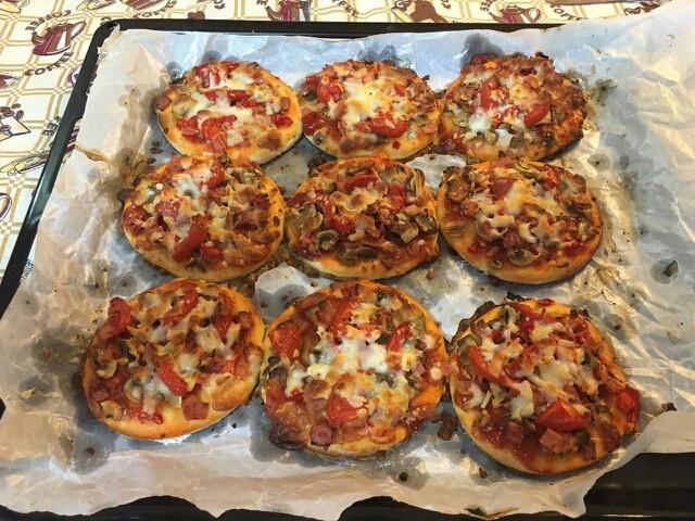 پیتزا لقمه ای