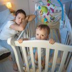 علت بی خوابی در نوزادان