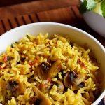 طرز تهیه بریانی قارچ هندی