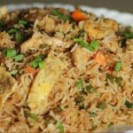طرز تهیه برنج مخلوط چینی