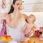 تغذیه مناسب برای تازه مادران