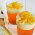 طرز تهیه دسر ژلوکرم پرتقال