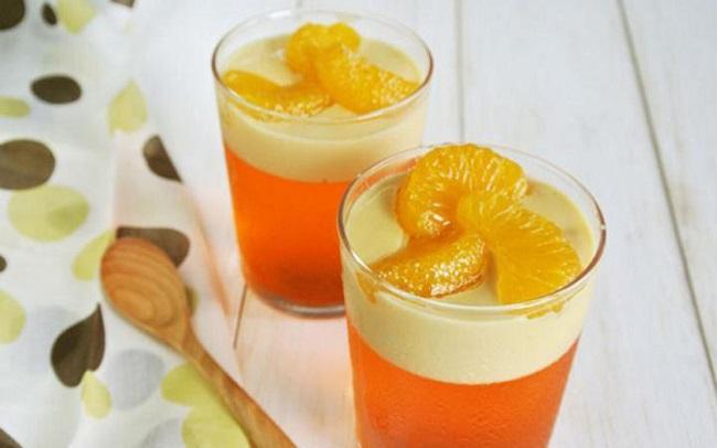 دسر ژلوکرم پرتقال