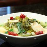طرز تهیه خوراک ماهی و سبزیجات چینی