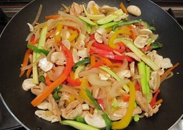 خوراک سبزیجات چینی