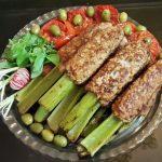 طرز تهیه کباب مرغ با کرفس