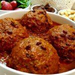 طرز تهیه کوفته هلو شیرازی