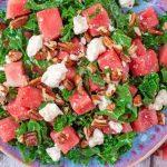 سالاد هندوانه یونانی